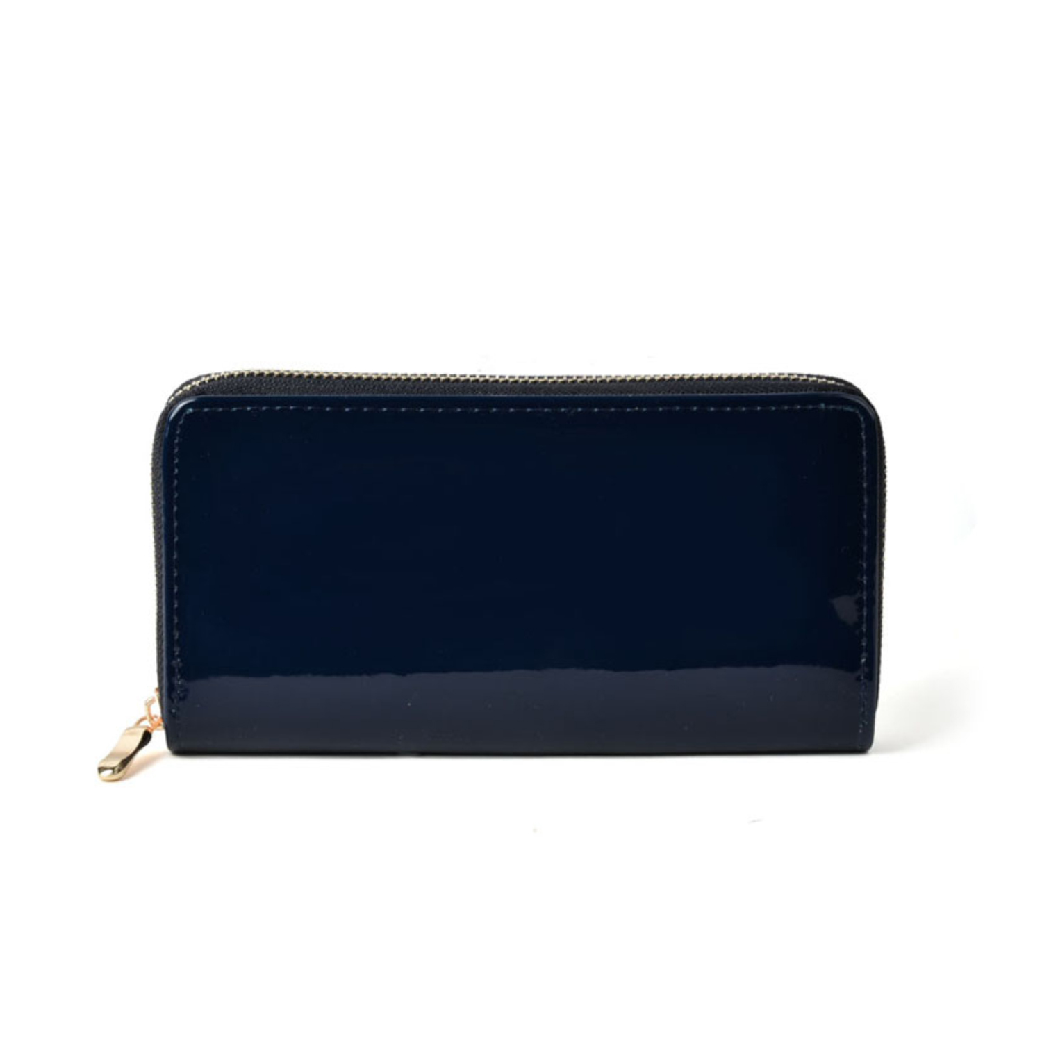 SallyYoung Women Wallet Card Holders Zipper Closure With Clean Wipe Soft Pu Leathers Women Fashion Solid