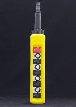 1PC Single Speed Hoist Crane 8 Pushbutton Pendant Control Station With Emergency