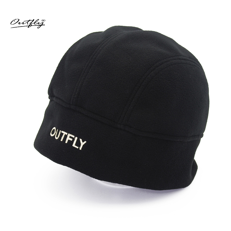 Outfly new arrive simple design winter warm skullies cap high quality fashion poor color cotton hat hot sale brand beanies caps