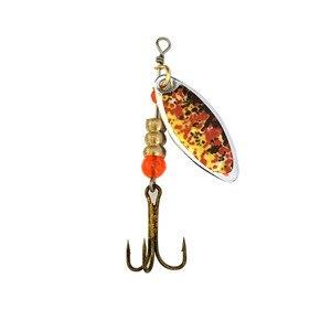Image 2 - Oloey釣りルアー人工6個のボックススプーン魚ルアーは餌ルアールアースピナー