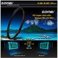ZOMEI PRO Ultra Slim HD MCUV 18 Слой Многопользовательская Покрытием Schott стекло MC UV Фильтр для Canon NIkon Хойя Sony Камера объектив