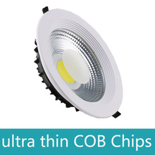 New 5w 7w 10w 15w 20w 30w 40w 50w 60w cob led downlight dimmable recessed ceiling lamp spot kitchen bathroom 110v 220v