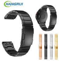 Stainless Steel Bracelet Strap Wristband For Garmin Fenix 5 Forerunner 935 Quick Replacement Fit Band For