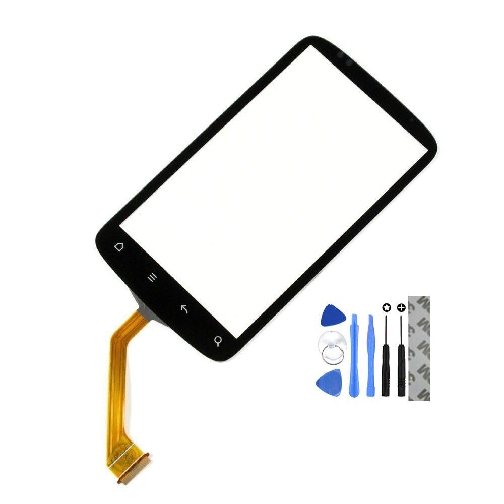 Vannego Noir Écran Tactile Digitizer Panneau Objectif En Verre pour HTC Desire S S510E G12 Pièces De Rechange De Réparation Partie Livraison Gratuite
