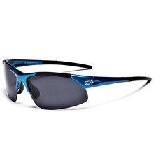 DAIWA แว่นตาตกปลากีฬากลางแจ้งตกปลาแว่นตากันแดดผู้ชายแว่นตาขี่จักรยานปีนเขาแว่นตากันแดด Polarized แว่นตาตกปลา