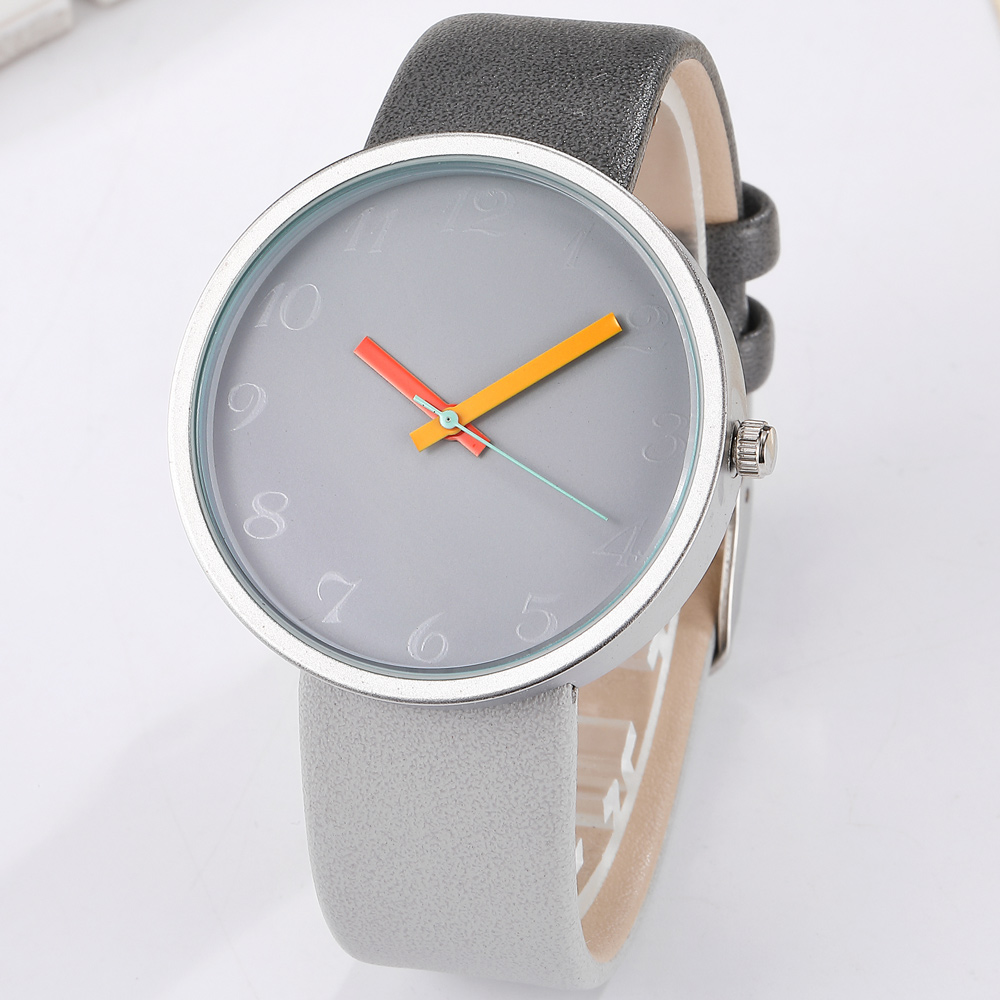 Minimalist Watches Men Women Top Band Luxury Colorful Mens  Leather Band Sports Couple Wristwatch Clock relogio masculinoMinimalist Watches Men Women Top Band Luxury Colorful Mens  Leather Band Sports Couple Wristwatch Clock relogio masculino
