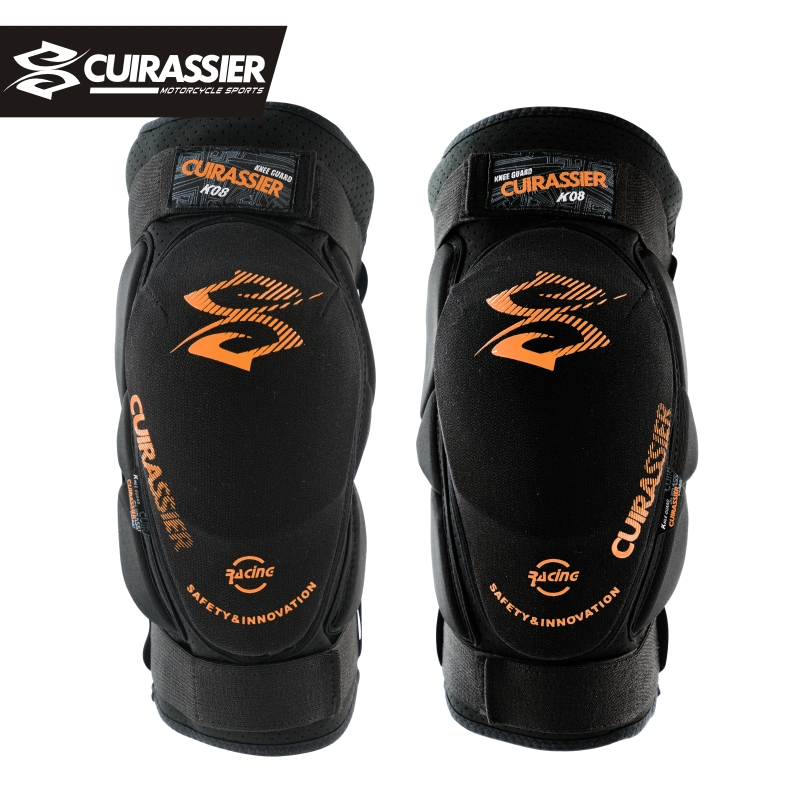 Cuirassier Motorcycle Knee Protector Scooter Motor Sport Protective Knee Guards Safety Road Motorbike Knee Pads Equipment