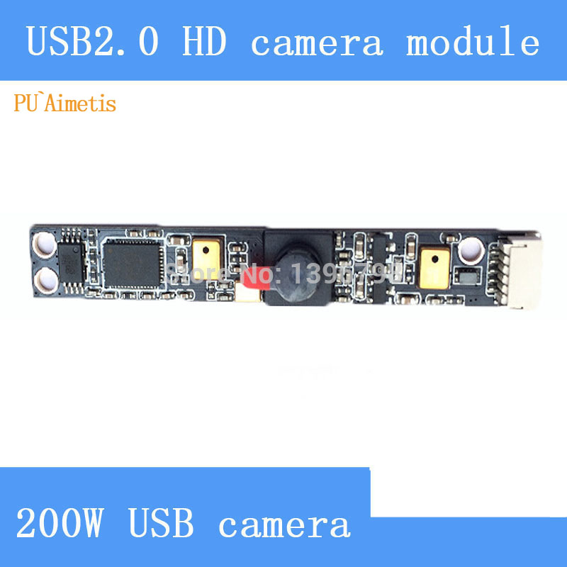 PU`Aimetis USB2.0 high-definition surveillance cameras 200W laptop built-in dual microphones camera module