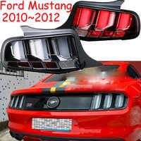 Luz LED trasera para coche Mustang, accesorios de luces para coche, luz para parachoques, 2010, 2011, 2012, 2013, 2014/2015 ~ 2019