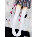 2 Pair 1/3 1/4 BJD Stocking Doll Clothes BJD Socks Fashion Doll Accessories,Black White Color Sexy Elastic Stockings for Dolls