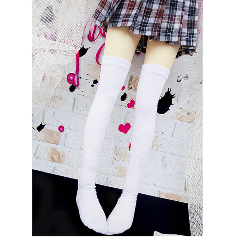 Fashion Pink Cotton Blend Stockings For 1//4 BJD SD Dollife LUTS Doll Dress