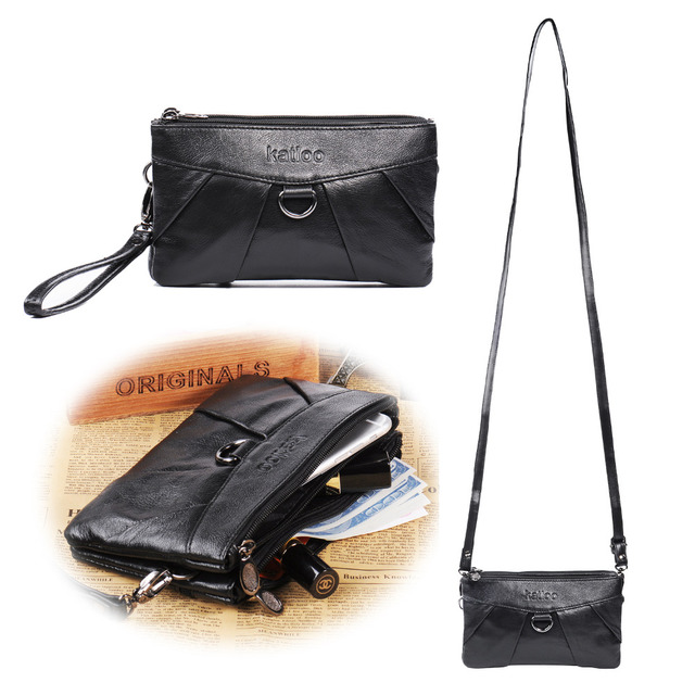 2db564d227af US $16.99 |Real Leather Multi Purpose Cross body Purse Shoulder Bag for  Women Wristlet Handbag Organizer Travel Wallet Satchel Pouch-in Crossbody  Bags ...