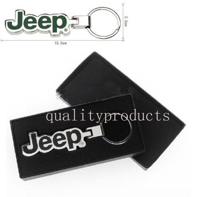 Новый Металл Автомобилей Key Chain Для Jeep Wrangler Grand Cherokee Wrangler Компас Патриот Командующий Автомобилей стайлинг