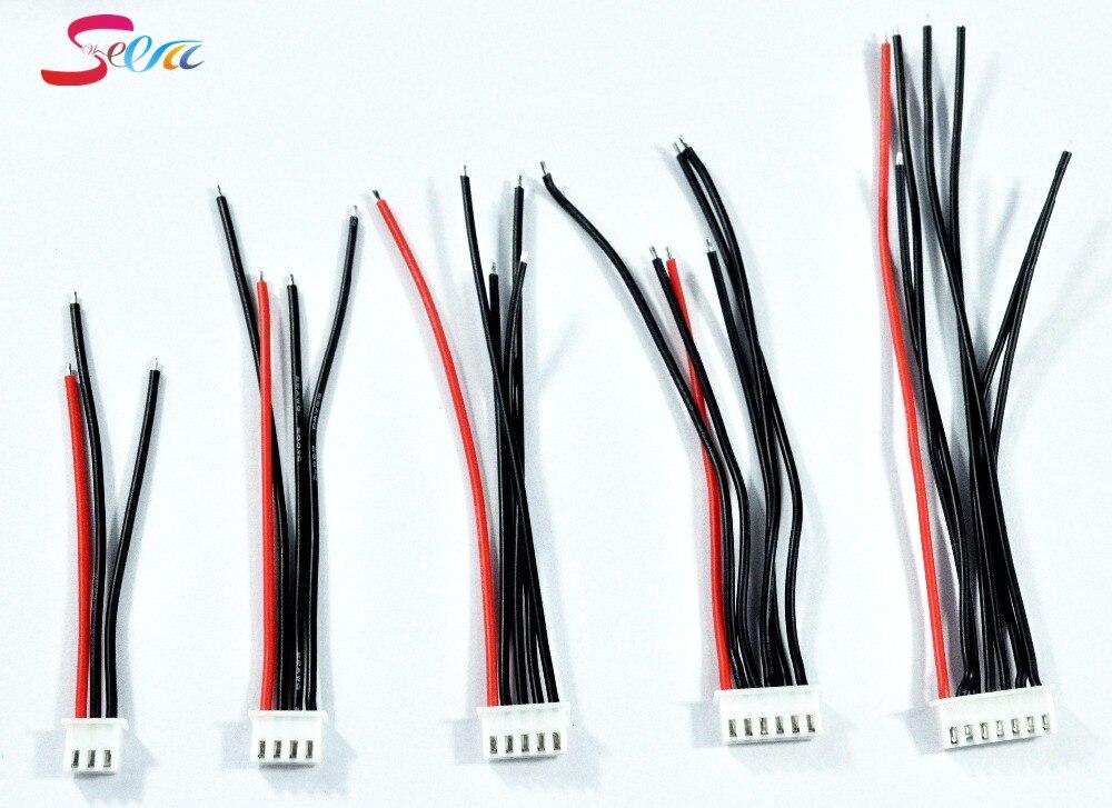 1 шт. 2 S-6 S JST-XH jst xh адаптер разъем Balance смены Провода для RC lipo Батарея для iMax B3 B6