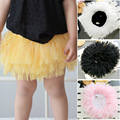 Baby girls tulle lace dresses bubble skirts princess Mini TUTU layered dress pettiskirt baby cute lovely dress children clothing