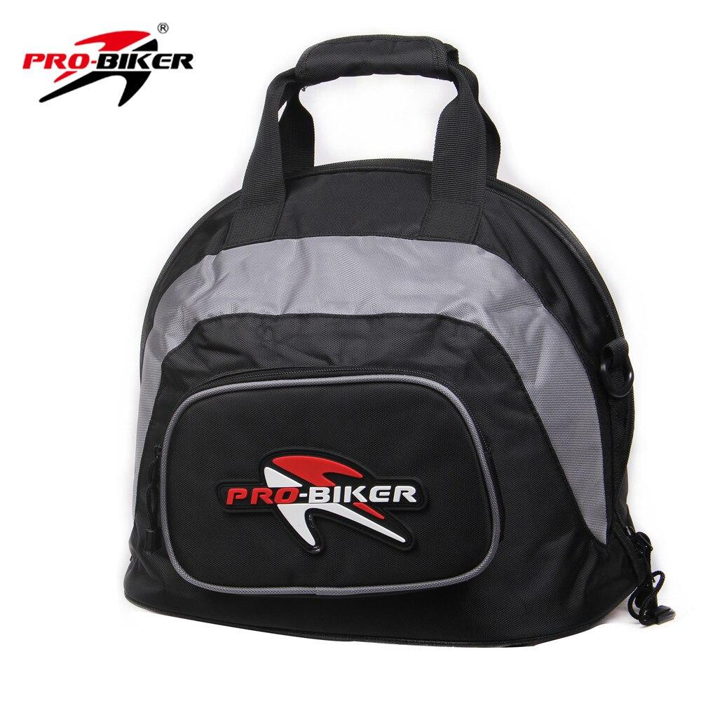 Motociklų šalmų krepšys 'Soft' profesionalus nešiojamas rankinis 'PRO-BIKER' pilnas komplektas