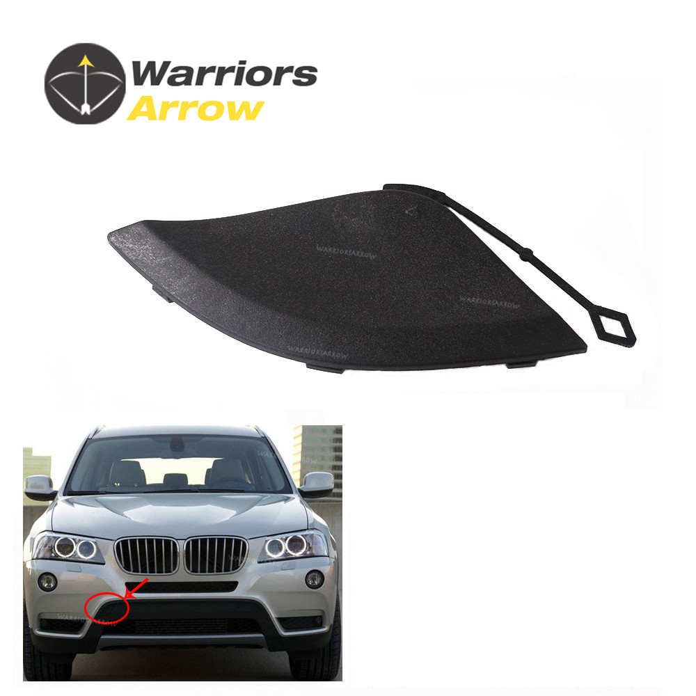 Unpainted Front Bumper Tow Hook Cover Cap for BMW X3 F25 2011-2014 51117210474