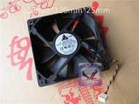 DC12V 0.80A servidor ventilador de refrigeración para Delta Electronics AFB1212SH-5M61 servidor cuadrado ventilador 4-alambre 120x120 25x25mm