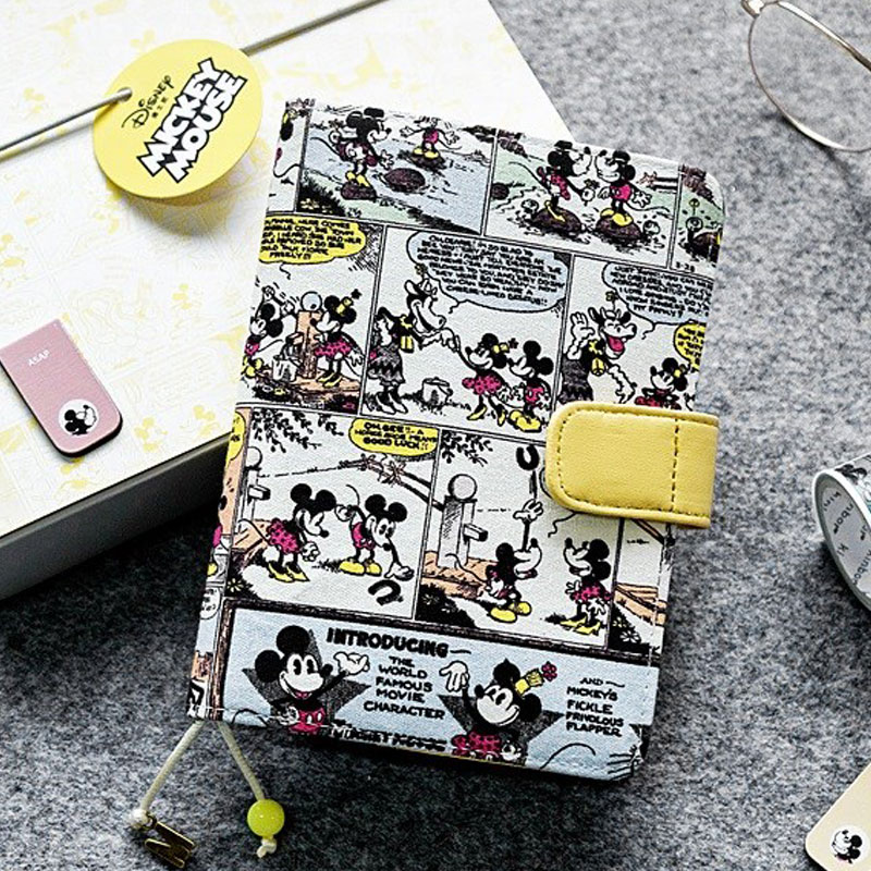 Comi Mickey Mouse Hobonichi Cover Notebook A6 Refill 2019 Planner Organizer Hobonichi Cover for Standard A6
