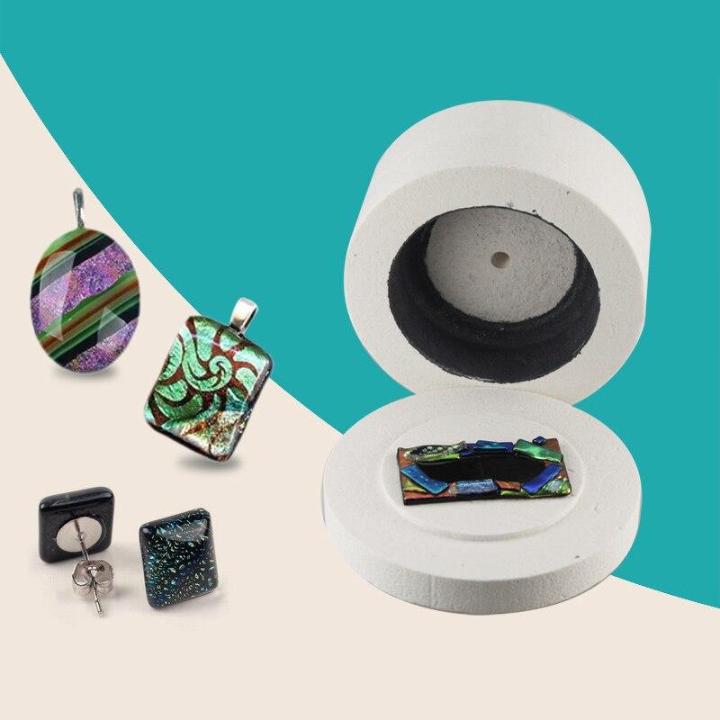 15 pièces artisanat bijoux à bricoler soi-même à coudre outils fournitures faisant four à micro-ondes set fusion fours en verre pour accessoires en céramique