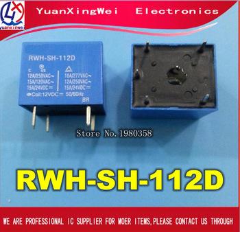 Darmowa wysyłka 10 sztuk RWH-SH-112D 12V GOODSKY nowy oryginalny przekaźnik na 100 nowy oryginalny tanie i dobre opinie yuanxinwei Brak Kinect