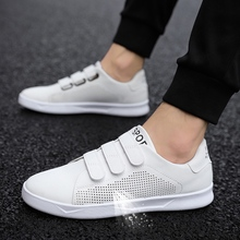 LAISUMK Breathable Men Sneaker Male Shoes Adult Red Black White High Quality Comfortable Non-slip Fashion Soft Men Shoes Summer brooks men s ravenna 6 shoes white high risk red black 12 d