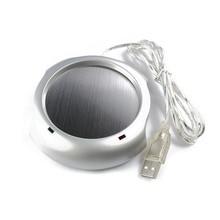 4 Ports USB Power Hub Powered Beverage Coffee Tea Cup Mug Warmer Heater PAD Creative USB Gadgets