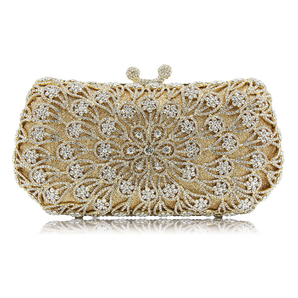 Silver/Gold handbags women famous brands For Wedding Party Evening Bags Small Purse Full Rhinestones Bags carteira femininaSilver/Gold handbags women famous brands For Wedding Party Evening Bags Small Purse Full Rhinestones Bags carteira feminina