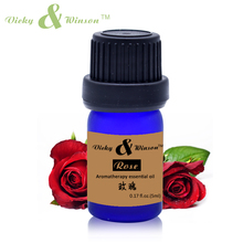 цена Vicky&winson Rose Essential Oil 5ml Moisturize Hydrating Whitening Massage oils Skin Care Facial VWXX53 онлайн в 2017 году