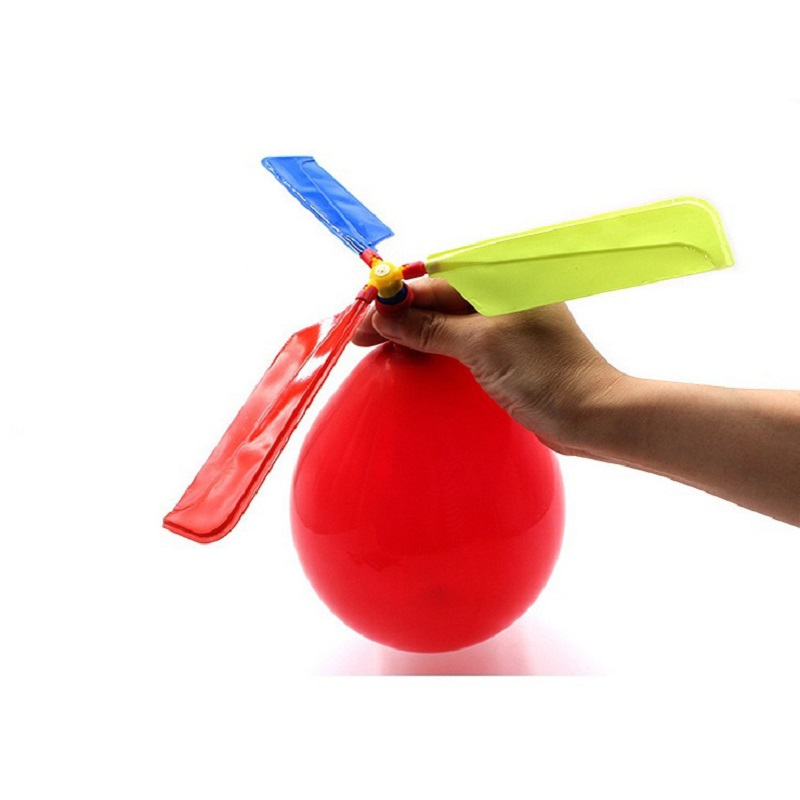 1Pc Sound Balloon Helicopter Outdoor Sports Toy Children UFO Play Fun Flying Toys Kids Party Play Gift Jouet