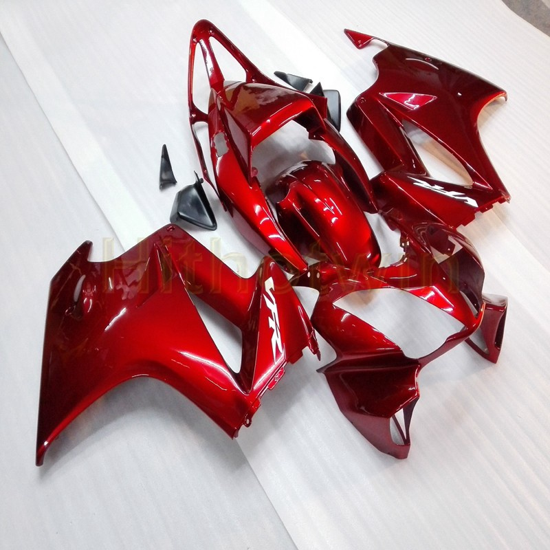 Custo Motorcycle Cowl For 2002 2003 2004 2005 2006 2007 2008 2012 VFR800 02-12 ABS Plastic Fairing+ 5Gifts+red