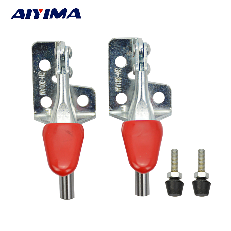 AIYIMA 4PCS Hand Tool Metal Holding Capacity Latch Type Toggle Clamp GH-301AM