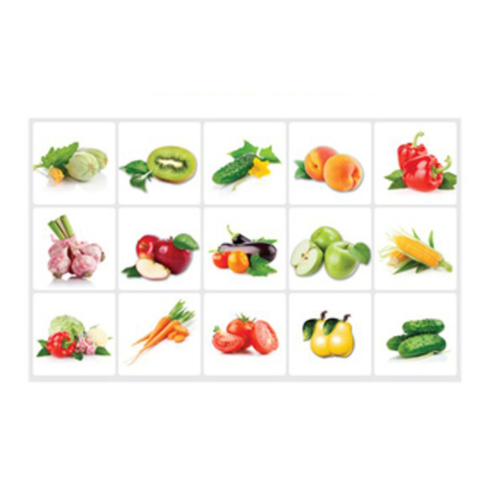 Kitchen Tiles Fruits Vegetables: Vegetable Fruit Kitchen Stickers Anti Oil Paste Waterproof