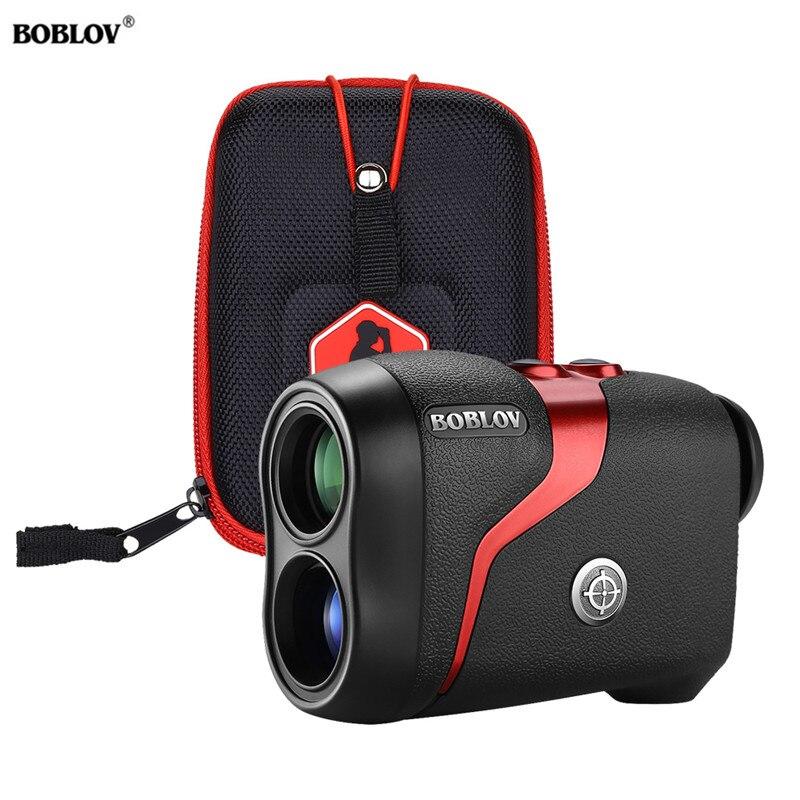 BOBLOV 600m Golf Range Finder With Slope 600 Yards 6X Monocular Golf Hunting Range Finder Monocular Laser Rangefinders With Bag