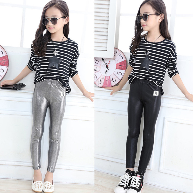 Aliexpresscom  Buy Girls Legging Silver Color Baby Girls -4106