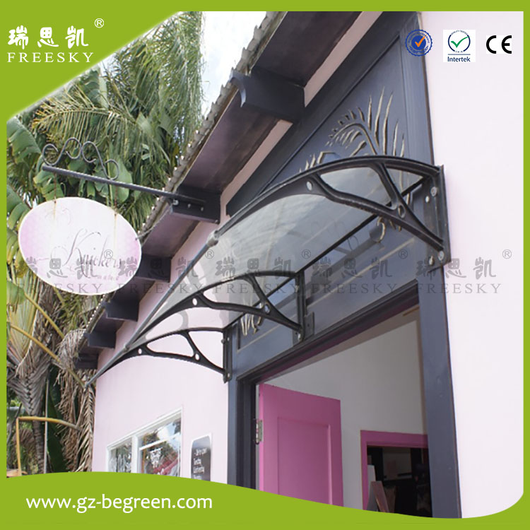 YP100200 100x200cm 100x300cm 100x600cm fixed awnings sun shelter patio covers polycarbonate awning