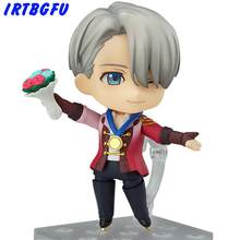 Victor Nikiforov Yuri On Ice Q Version Figure Japanese Anime Figures One Piece Action Childhood Edition(China)