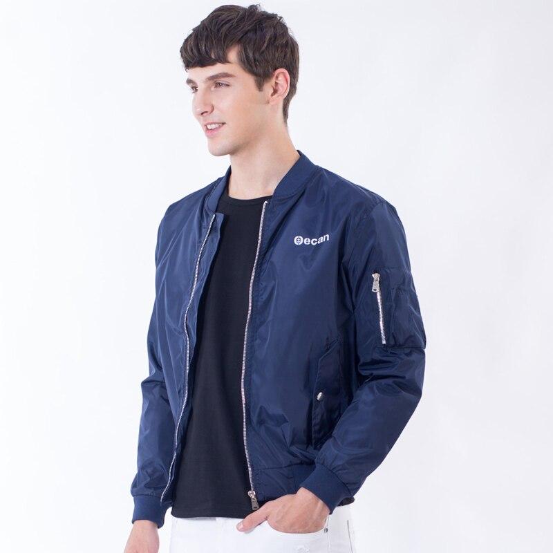 бомбардировщик куртка мужчины 2016 новых осень мужская досуг куртка письмо печатные slim fit пальто куртки случайные люди спортивной поло куртки