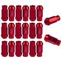 Lot20 EE apoyo Para HONDA CIVIC ACCORD ACURA JDM D1 Spec Tuercas de las Ruedas M12 X1.5MM Rojo W8 XY01