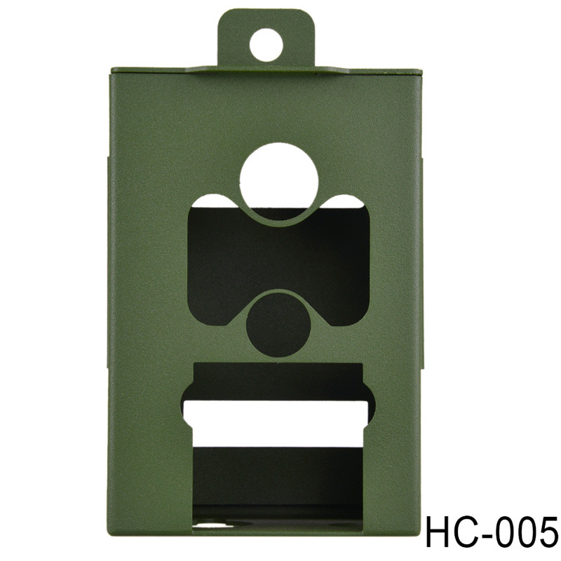 Army Green Iron Security Box for Suntek Hunting font b Trail b font font b Camera