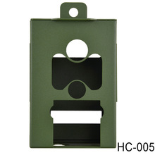 Army Green Iron Security Box for Suntek Hunting Trail Camera HC-500 Series