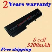 JIGU New 4400MAH 8 cell Laptop Battery For HP nc6200 nc6220 nc6230 nc8200 nc8230 nw8240 nx6110 nx6120 nx6125 nx8220 tc4200