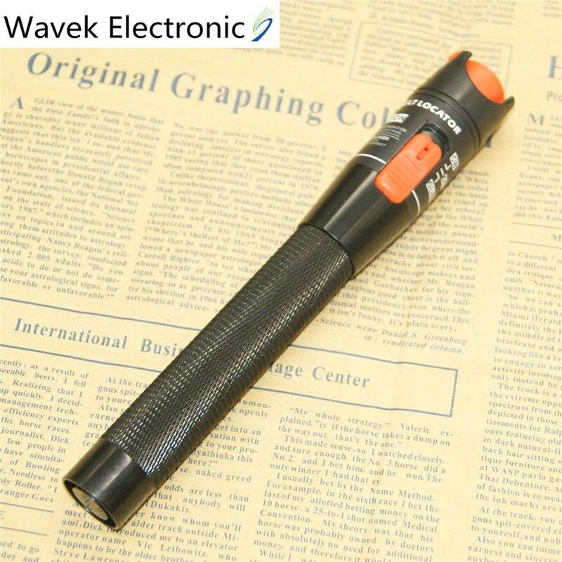 10 mW Visual Fault Locator Fibra Ottica Cable Tester 10 mw Luce Laser Rossa 10-12 KM Tipo di Penna Visual Fault Locator Spedizione Gratuita