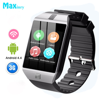 Smart Watch Men QW09 Bluetooth Wristwatch Steps SIM 3G WIFI Smart Bracelet With Camera For Android Phone Multiple Dials Music