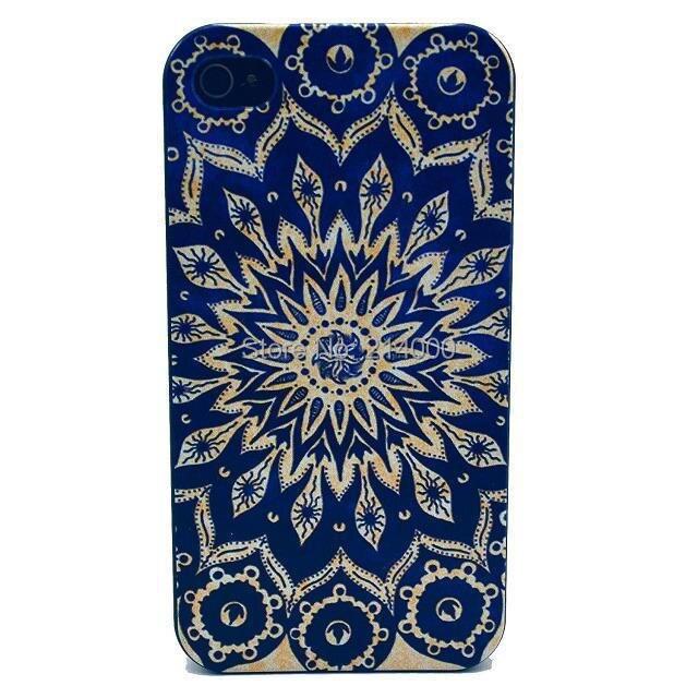 MOQ 1PC mandala case iPhone 4 4s 5c 5 5s 6 plus hard plastic - Julie Trading Co.,Ltd store