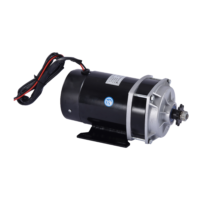 Electric Tricycle Accessories MY1122ZXF Motor 24V 650W Permanent Magnet DC Brush Motor 3200r/min 6:1 Reduction Ratio Hot Selling