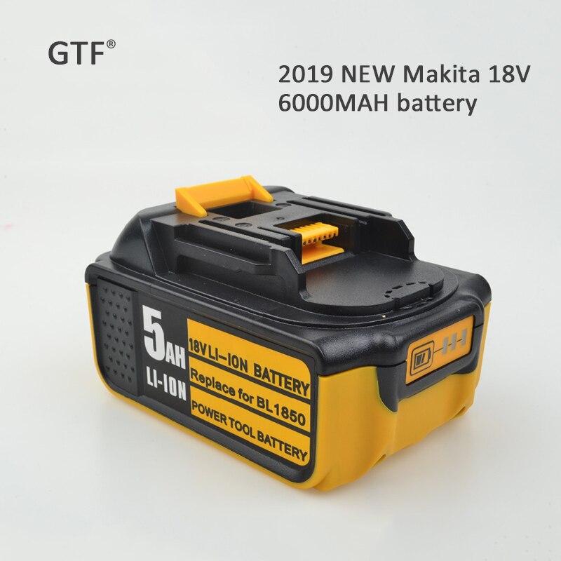 2019 nouveau pour MAKITA 18 V 6000 mAh batterie Rechargeable outil Portable Li-Ion batterie de remplacement Batteries de puissance pour MAKITA BL1860
