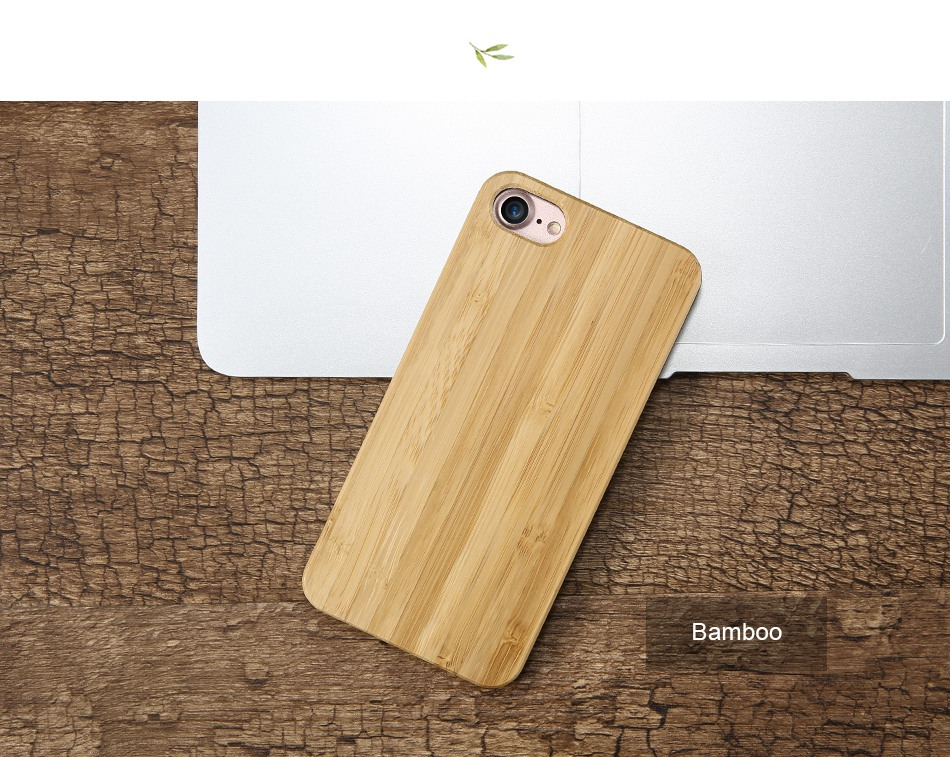 For iPhone 7 iPhone 7 Plus Case Natural Bamboo Wooden Phone Cases For iPhone 6 6S Plus 6 Plus (15)