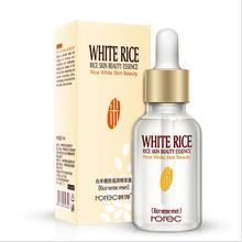 Hot sale White Rice Serum Natural & Organic Reduces Wrinkles & Lightens Dark Spo