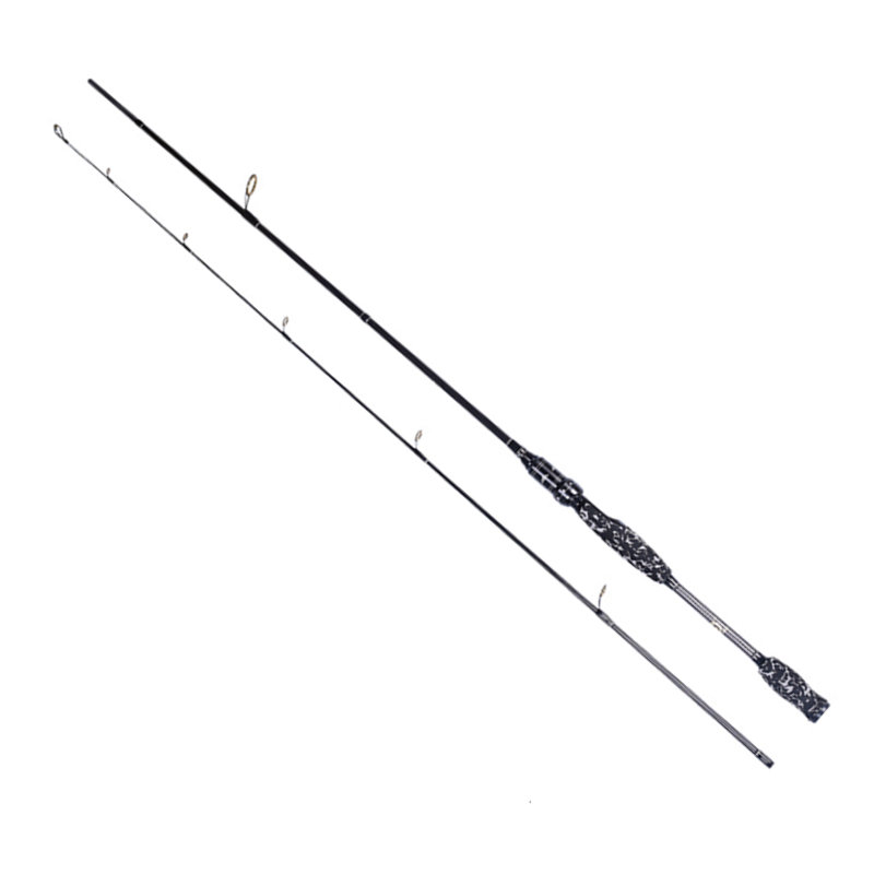 SK-24T Carbon Lure Fishing Rod M/ML Double tip Lure Rod Straight Shank Handle&Gun Handle Lure Fishing Rod Net Load Fishing 10kg mz 7c cork straight shank elastic rod fishing sea rod fishing activities